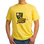 Army Ranger Beret Dagger Yellow T-Shirt