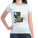 Army Ranger Beret Dagger Jr. Ringer T-Shirt