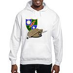 Army Ranger Beret Dagger (Front) Hooded Sweatshirt