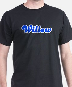 Retro Willow (Blue) T-Shirt
