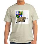 Army Ranger Beret Dagger Ash Grey T-Shirt