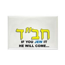 JEW IT Rectangle Magnet