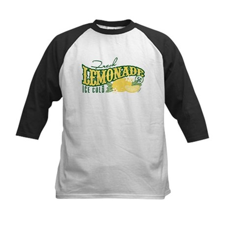 Fresh Lemonade Kids Baseball Jersey