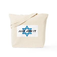 JUST JEW IT Tote Bag