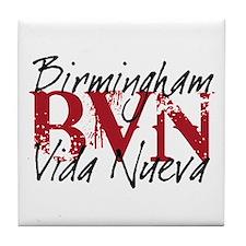 """BVN """"Grunge"""" Alabama Tile Coaster"""