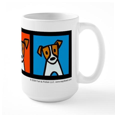Jack Russells! Large Mug