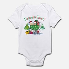 DECEMBER TWINS! Infant Bodysuit