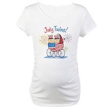 JULY TWINS! Shirt