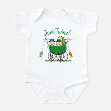 JUNE TWINS! Infant Bodysuit