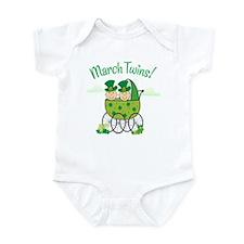 MARCH TWINS! Infant Bodysuit