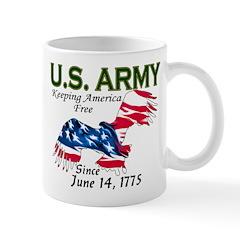 Army Keeping America Free Mug