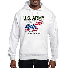 Army Keeping America Free Hoodie