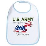 Army Keeping America Free Bib