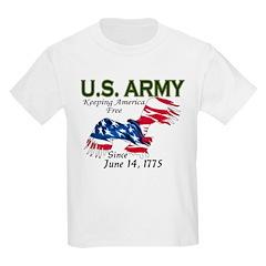 Army Keeping America Free Kids T-Shirt