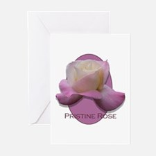 Pristine Rose Greeting Cards (Pk of 10)