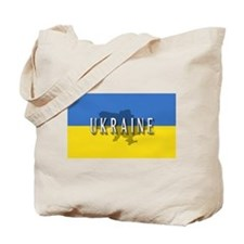 Ukraine Flag Extra Tote Bag