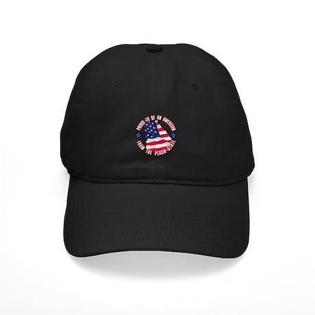 Patriotic Georgia Black Cap