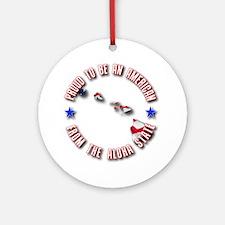 Patriotic Hawaii Ornament (Round)
