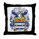 Woodward Family Crest Throw Pillow