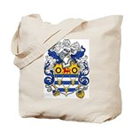 Woodward Family Crest Tote Bag