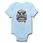 Woodward Family Crest Infant Creeper