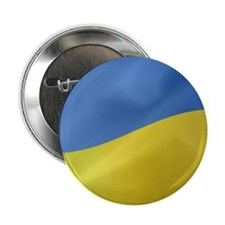 "Ukrainian Flag Wavy 2.25"" Button"