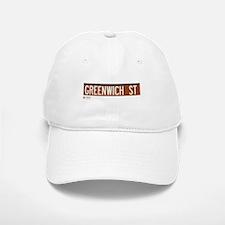 Greenwich Street in NY Baseball Baseball Cap