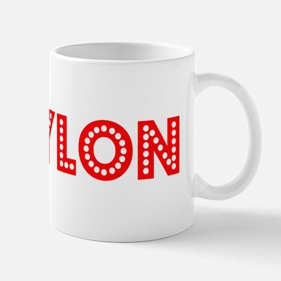 Retro Waylon (Red) Mug