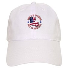 Patriotic Louisiana Baseball Cap