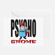 PSYCHO GNOME Greeting Card