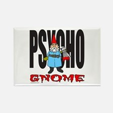 PSYCHO GNOME Rectangle Magnet