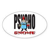 Garden gnome Bumper Stickers