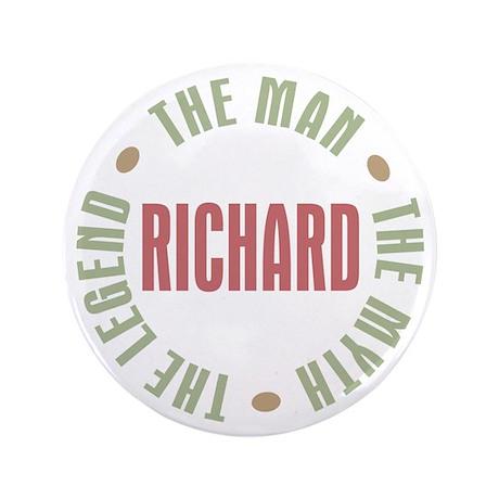 "Richard Man Myth Legend 3.5"" Button (100 pack)"