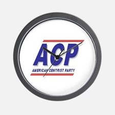 American Centrist Party Wall Clock