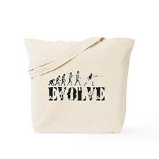 Fencing Evolution Tote Bag