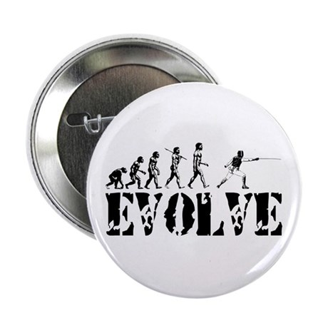 "Fencing Evolution 2.25"" Button (10 pack)"