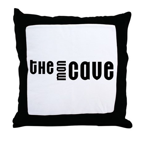 The Man Cave Throw Pillow