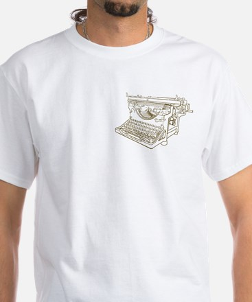 Creative Writer White T-Shirt