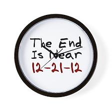 End Is Near 12-21-12 Wall Clock
