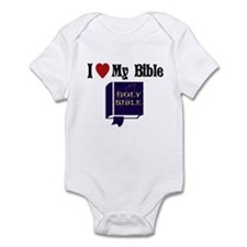 I love my Bible Infant Bodysuit