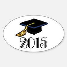 2015 Graduation Class Oval Decal