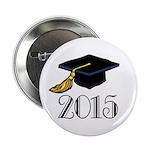 """2015 Graduation Class 2.25"""" Button"""