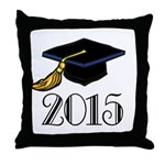 2015 Graduation Class Throw Pillow