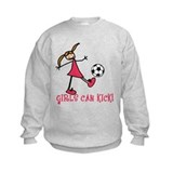 Soccer girls Crew Neck