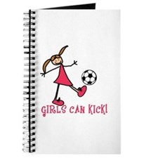Girls Soccer Girls Can Kick Journal