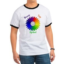 Rainbow Volleyball Daisy T