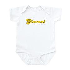 Retro Giovani (Gold) Infant Bodysuit