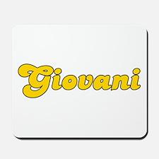 Retro Giovani (Gold) Mousepad