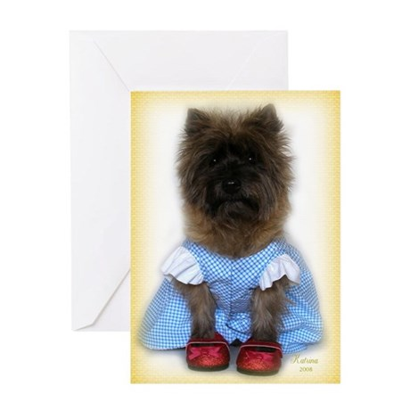 Toto Dorothy Over the Rainbow Greeting Card