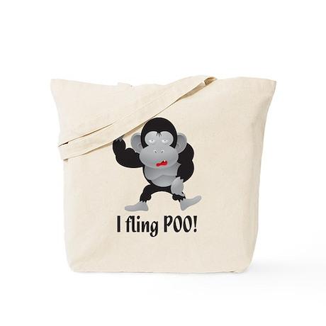 I fling POO! Tote Bag